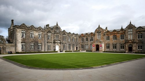 Up to 40 people attend St Andrews University halls party