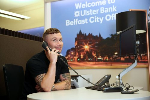 The Jackal surprises East Belfast pensioner with 'Check In and Chat' call