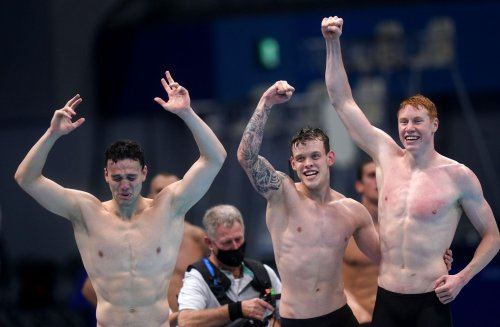 Double Olympic Gold for Berkshire swimmer at Tokyo 2020