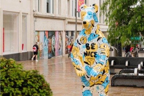 'Be Kind' charity bear damaged in Sheffield