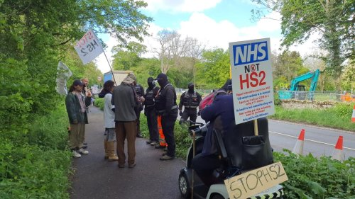 Protestors and protectors: The Bucks residents still fighting HS2