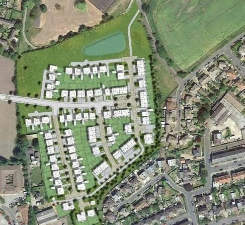 Plans to build 95 homes over 'vital green corridor' in Harrogate approved