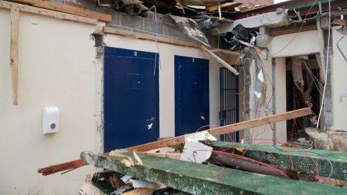 Inverness Castle cell block demolished