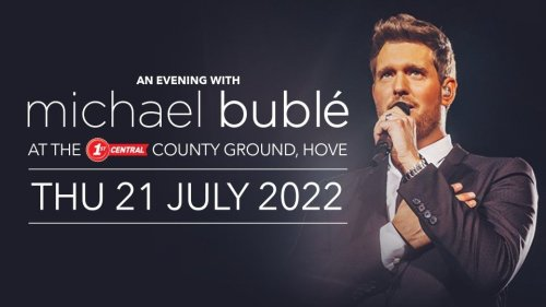 Michael Bublé's Sussex gig postponed again