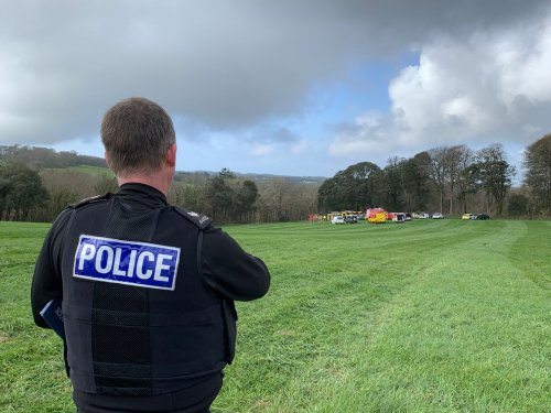 RNAS Culdrose thanks Cornwall for messages of support following Navy jet crash