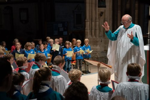 Chance to try life as a chorister at Salisbury Cathedral