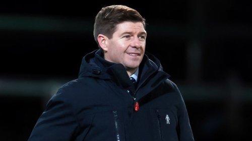 Steven Gerrard pleased as Rangers reach Premiership midway mark