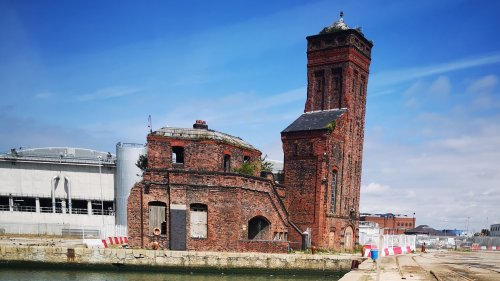 Everton's plans for Grade II listed tower at Bramley Moore Dock revealed