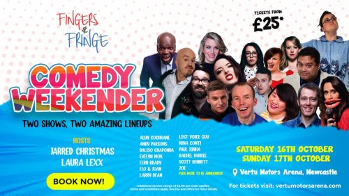 All-star heavyweight comedy festival heads to Newcastle