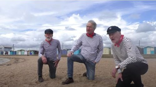 East Anglian singers produce NHS sea shanty to encourage people to get Covid jab