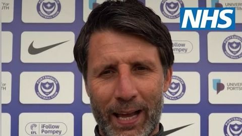 Pompey boss encourages fans to have their Covid-19 jabs