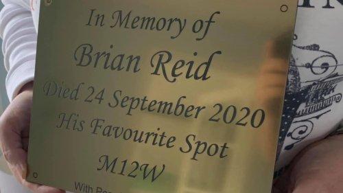 Vandals destroy memorial for East Kilbride man for the third time