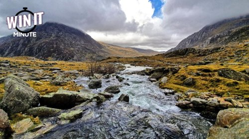 Win it Minute: Do you know where Snowdonia is?