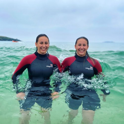 Cornwall dad follows in daughters' footsteps to become RNLI lifeguard