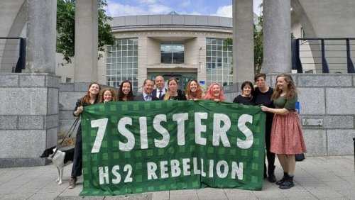 HS2 Rebellion 'Seven Sisters' acquitted over Bucks woodland incident