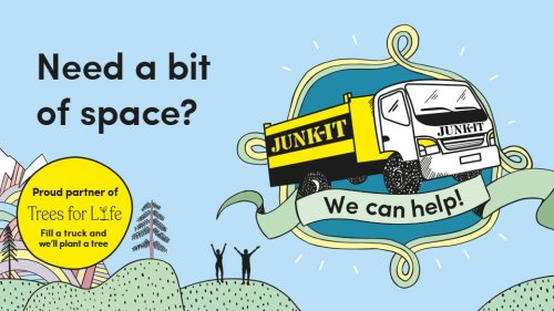 Win a visit from the Junk It truck and get rid of a truck load of unwanted clutter!