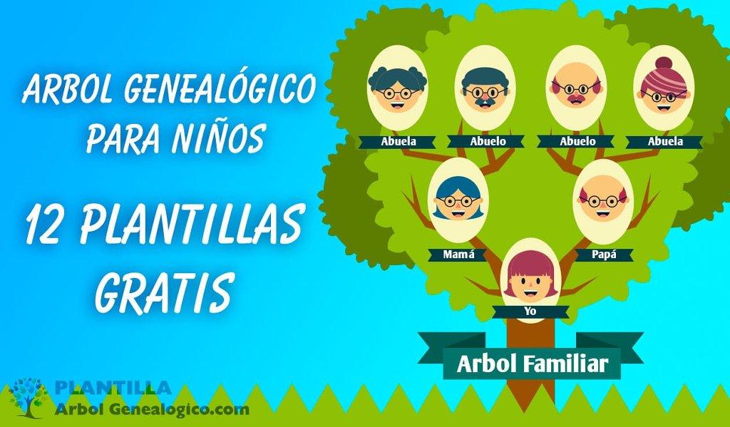 Plantilla Árbol Genealógico - cover