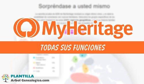 ▷ MyHeritage - Te contamos que es y ➡️ TODAS sus Funciones