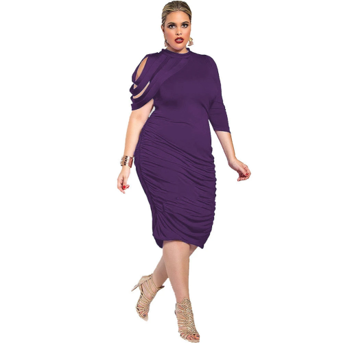 Plus Size Irregular Sexy Dress Review