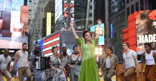 Watch Amber Gray, André De Shields, and Hadestown Cast Perform on Good Morning America | Playbill