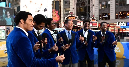 Watch the Cast of Ain't Too Proud Perform a Medley of The Temptations' Tunes on Good Morning America | Playbill