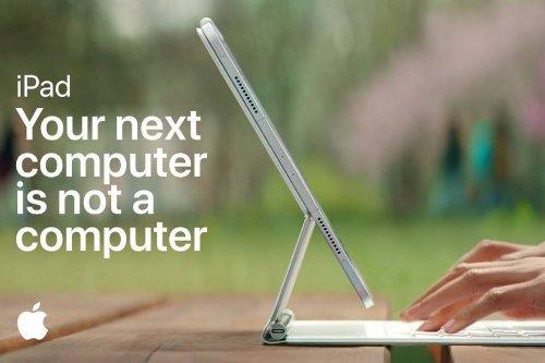 """Il nuovo spot dell'iPad: """"Il tuo prossimo computer non è un computer"""""""