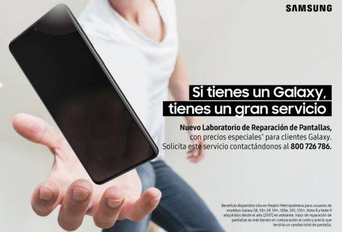 """""""Laboratorio de Reparación de Pantallas"""", lo nuevo de Samsung"""