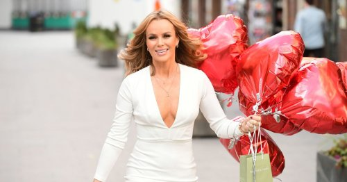 Amanda Holden vows to stay sexy until she's 70