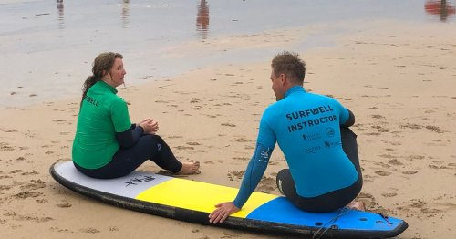 Surfing therapy for cops created in South West to go national