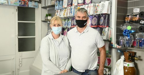 Married couple open quirky card shop in heart of Compton