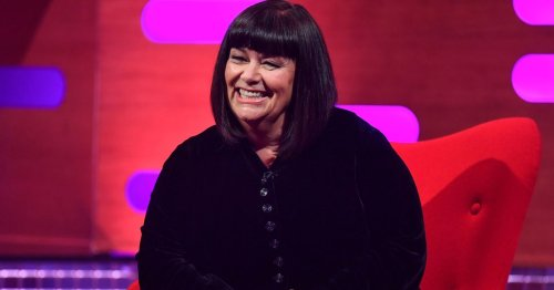 Dawn French inspires women to embrace naturally going grey in new snap