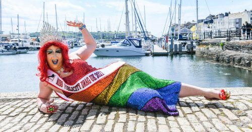 Plymouth drag queen who's 'like a drunk auntie at a wedding'