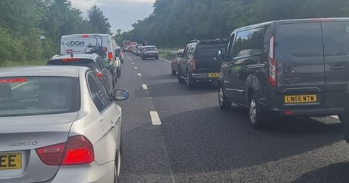 Drivers told to avoid A380 near police incident