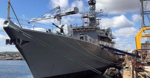 HMS Richmond will sail on 'legitimate' routes despite claims