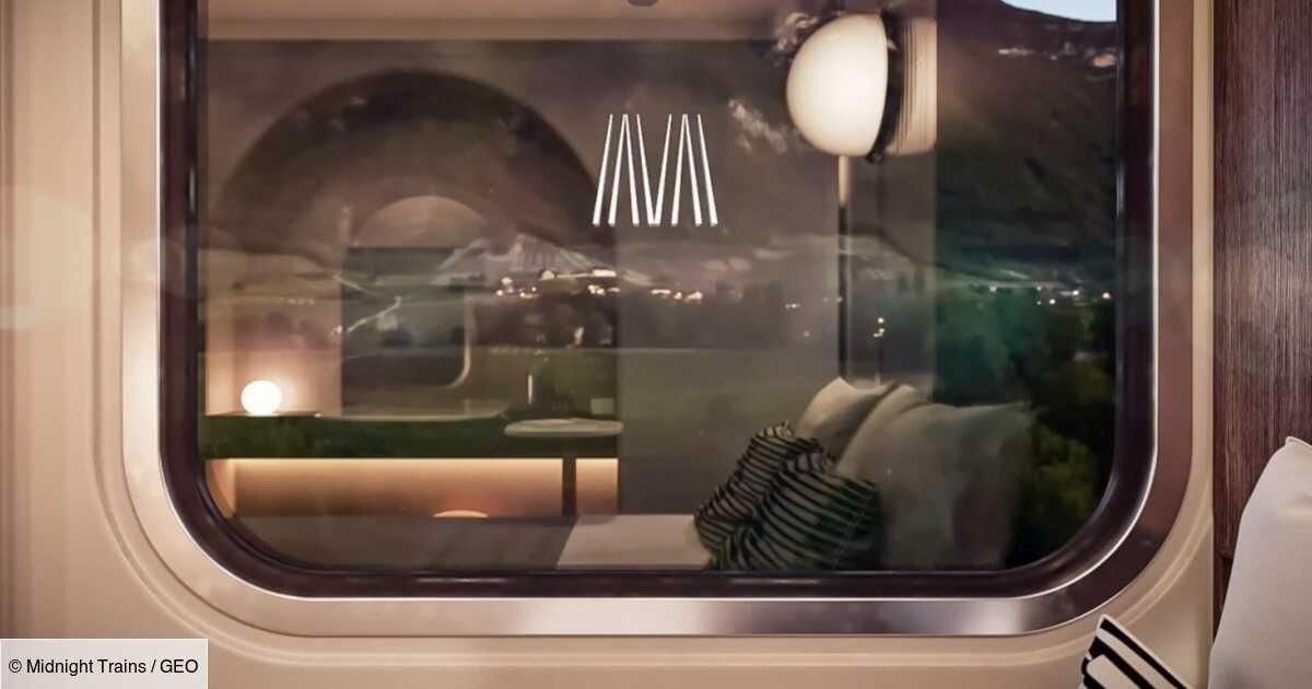 """Midnight Trains : des trains de nuit façon """"hôtel sur rails"""""""