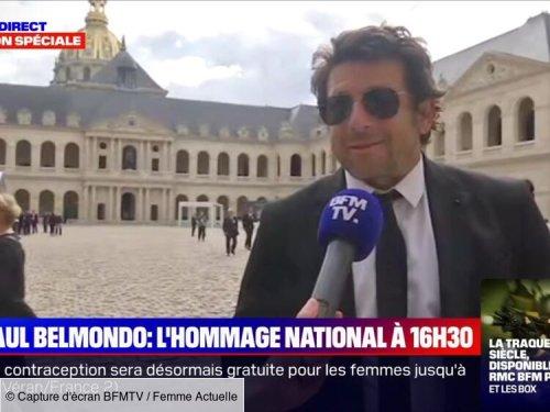 Hommage à Jean-Paul Belmondo : moment de malaise en direct pour Patrick Bruel