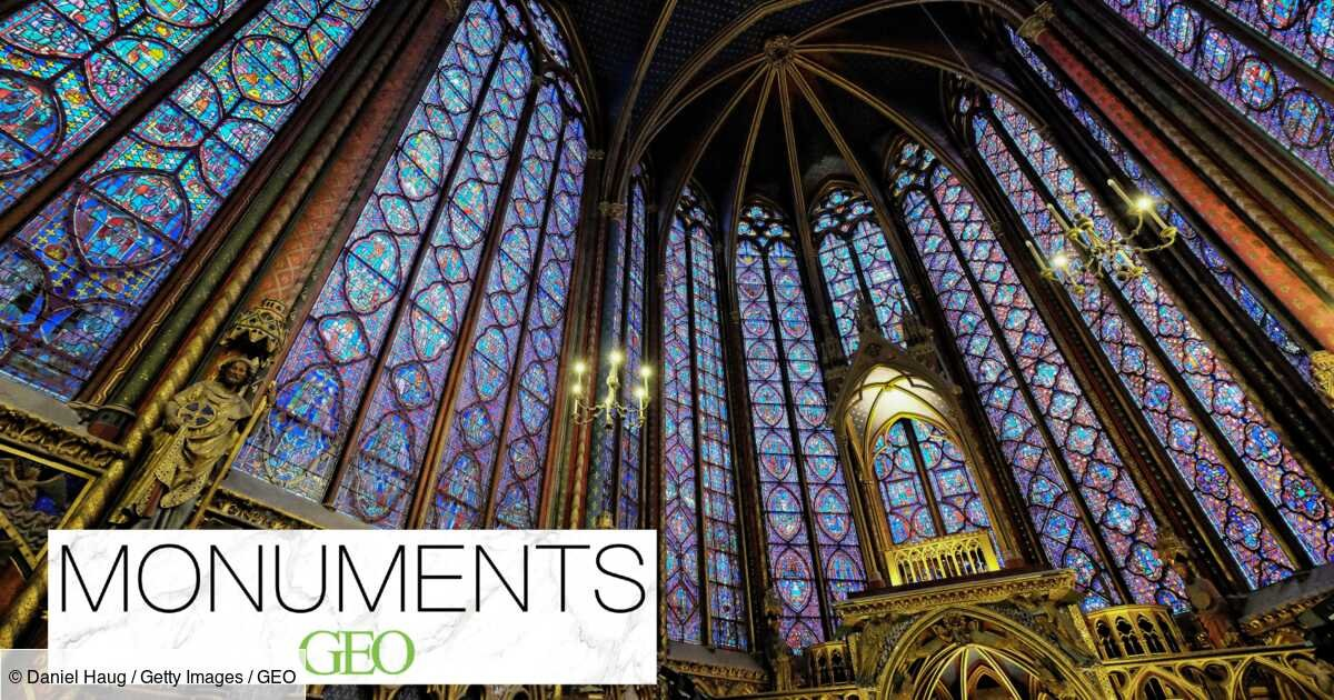 """Monuments : la Sainte-Chapelle, une """"cage de verre"""" au cœur de Paris"""