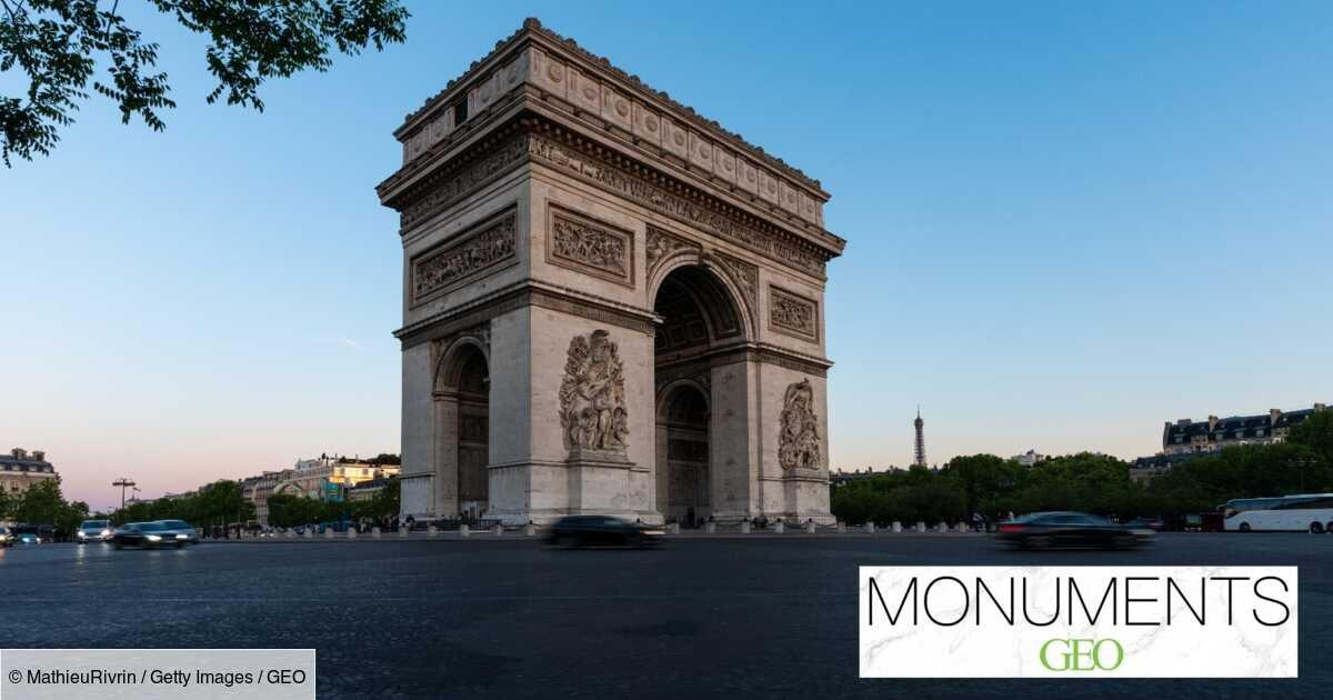 Monuments : les secrets bien gardés de l'Arc de Triomphe