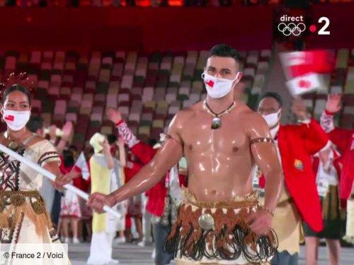 VIDEO JO de Tokyo 2021 : le commentaire d'Eglantine Eméyé sur le corps huilé de Pita Taufatofua choque les ...