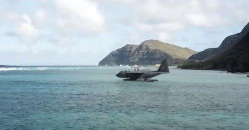 L'US Air Force se démène pour transformer ses plus gros avions en bateaux volants