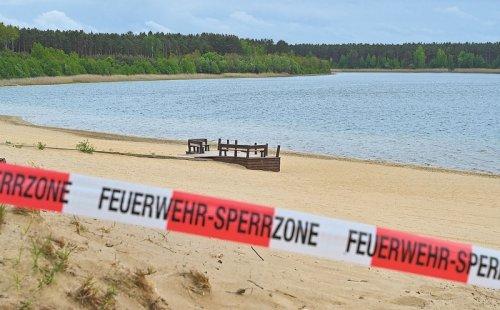 Helenesee weiter gesperrt