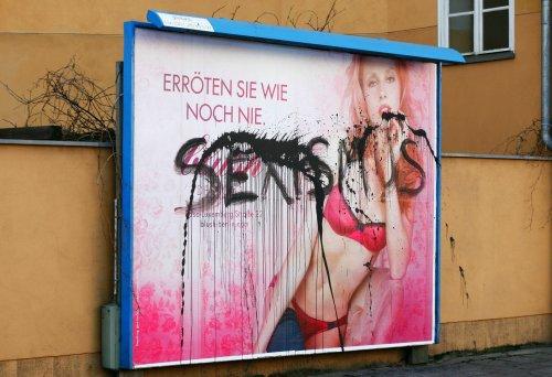 Kampf gegen sexistische Werbung in Potsdam