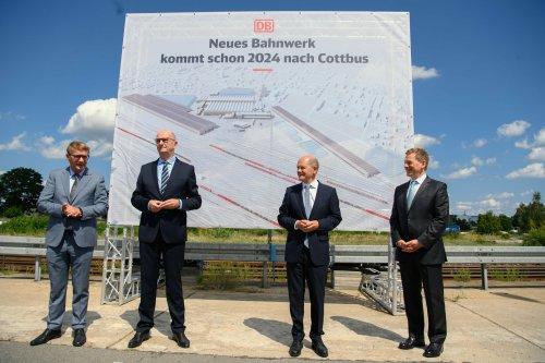 Neues Bahnwerk in Cottbus kommt schon früher