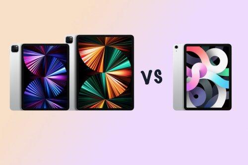 New Apple iPad 11 Pro vs iPad Pro 12.9 vs iPad Air compared