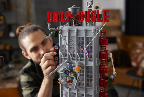 Lego Daily Bugle Building is the biggest Marvel Lego set yet