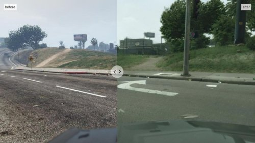Intel has made GTA V look incredibly realistic with machine learning