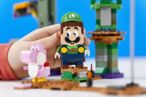 Lego intros Luigi Starter Course to its Nintendo Super Mario range