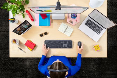 Upgrade your work space with these classy Logitech devices
