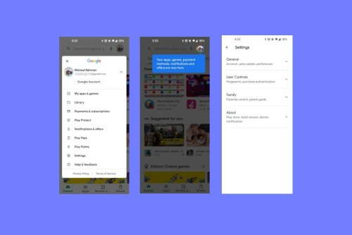 Google's starting to learn about Smartphone User Interface Design