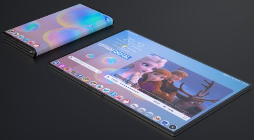 Samsung readying a ambitious tablet that folds twice: Report